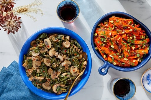Blue Apron Vegetarian meal