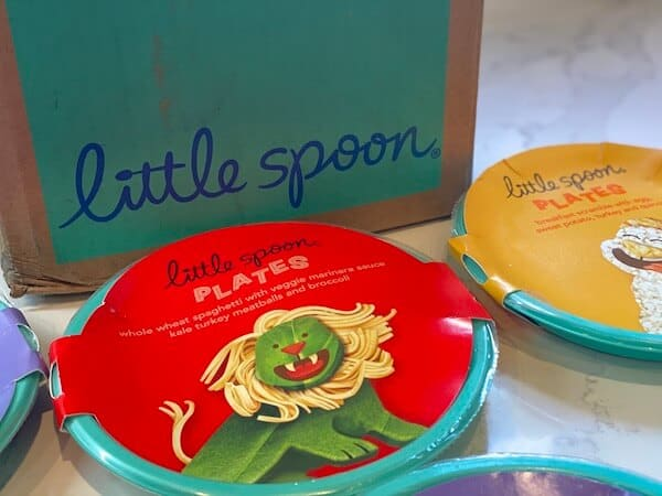 little spoon plates unboxing