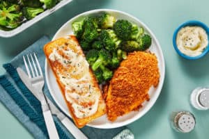 oven ready hello fresh fish meal