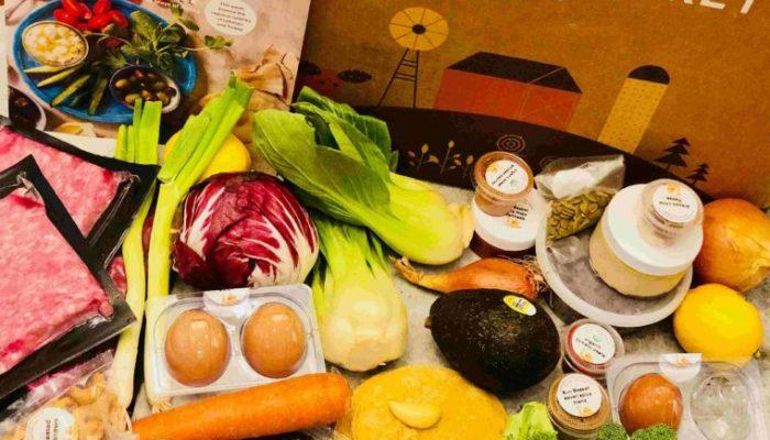 Sun Basket Ingredients